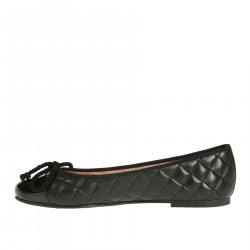 SHADE BLACK FLAT SHOE