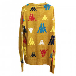 OCRA YELLOW SWEATER WITH FANTASY