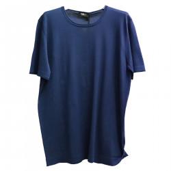 BLUE COTTON T SHIRT