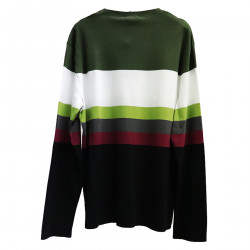 STRIPED MULTICOLOR SWEATER