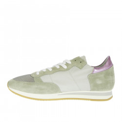 GREY AND VIOLET TROPEZ SNEAKER