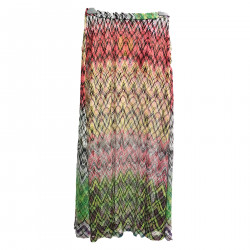 MULTICOLOR SKIRT WITH FANTASY