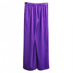 VIOLET TROUSERS WITH POCKETS