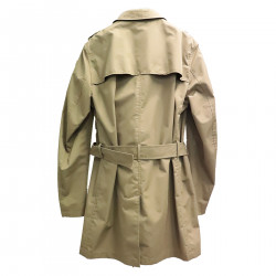 BROWN WATERPROOF TRENCH