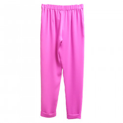 FUXIA TROUSERS WITH POCKETS