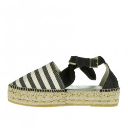STRIPED DIVO SANDAL