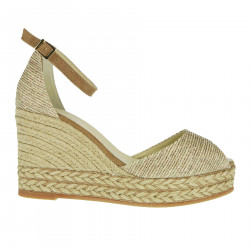 ANDA CREAM WEDGE SHOE