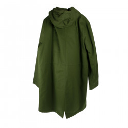 GREEN PARKA WITH HOOD