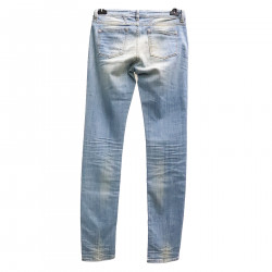 WASHED LIGHT BLUE JEANS