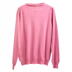 PINK SWEATER IN COTTON