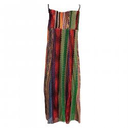 MULTICOLOR LONG DRESS