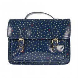 VINTAGE BLUE BAG WITH FANTASY