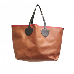 BROWN BAG IN LEATHER