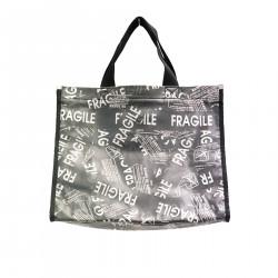 SMALL GREY SHOPPING BAG
