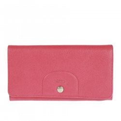 FUXIA LEATHER WALLET