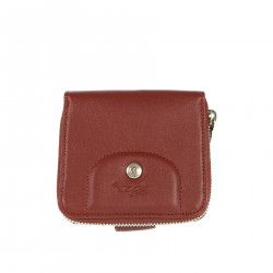 BORDEAUX LEATHER WALLET