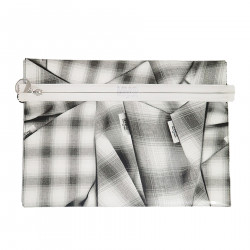 CHECKED POCHETTE