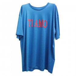 TI AMO BLUE T SHIRT