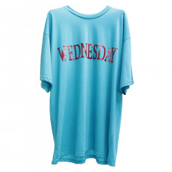 LIGHT BLUE WEDNESDAY T SHIRT