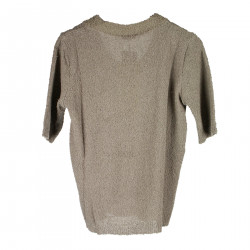 BROWN SWEATER IN COTTON
