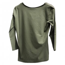 MILITARY GREEN SWEATER
