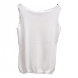 TOP BIANCO IN COTONE