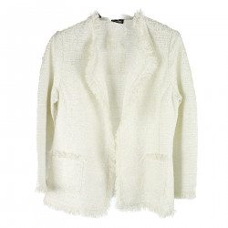 CREAM LUREX JACKET