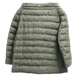 MILITARY GREEN DOWN JACKET