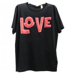 LOVE BLACK T SHIRT