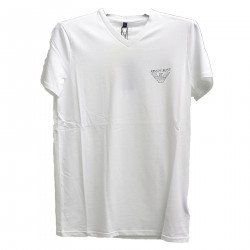 PRINTED WHITE T SHIRT