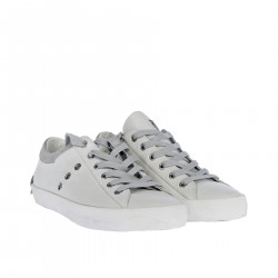 WHITE AND GREY SNEAKER