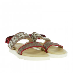 SANDAL WITH STONES