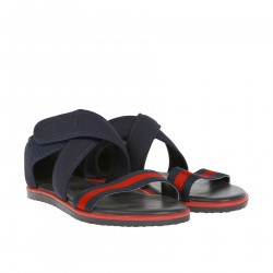 RED AND BLUE SANDAL