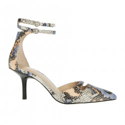 PYTHON DESIGN LEATHER SANDAL
