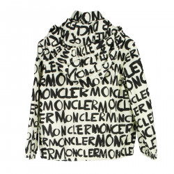 WHITE JACKET WITH WRITINGS
