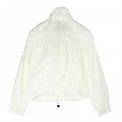 WHITE JACKET WITH POCKETS