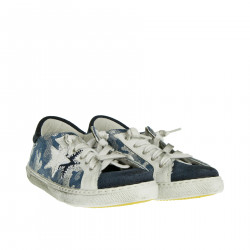 CAMOUFLAGE BLUE SNEAKER