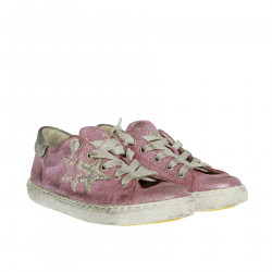 PINK AND GREY SNEAKER