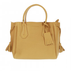 BEIGE BAG IN LEATHER