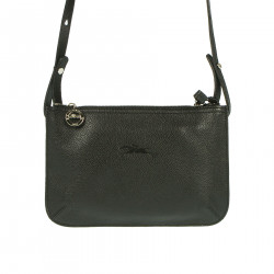 BLACK BAG IN LEATHER