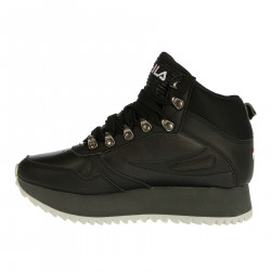 ORBIT WEDGE BLACK SNEAKER
