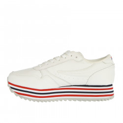 ORBIT ZEPPA STRIPE WHITE SNEAKER