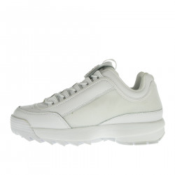 DISRUPTOR PATCHES WHITE SNEAKER