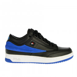BLACK AND BLUE SNEAKER