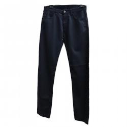 SLIM FIT BLUE PANTS