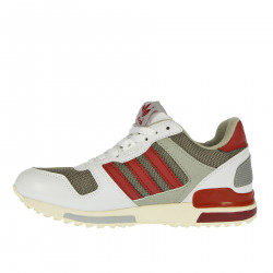 ZX 700 WHITE AND BORDEAUX SNEAKER