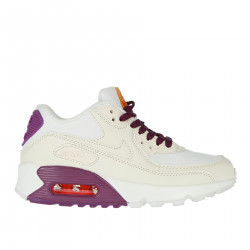 AIR MAX 90 WHITE AND VIOLET SNEAKER