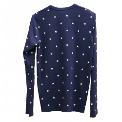 VIOLET CARDIGAN WITH STARS