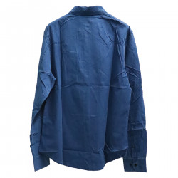 BLUE SHIRT WITH BREAST POCKET