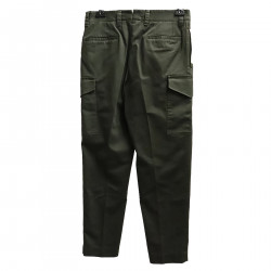 GREEN MULTIPOCKETS PANTS